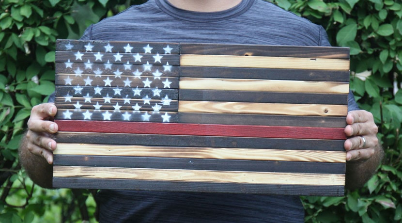 Thin Red Line Poly